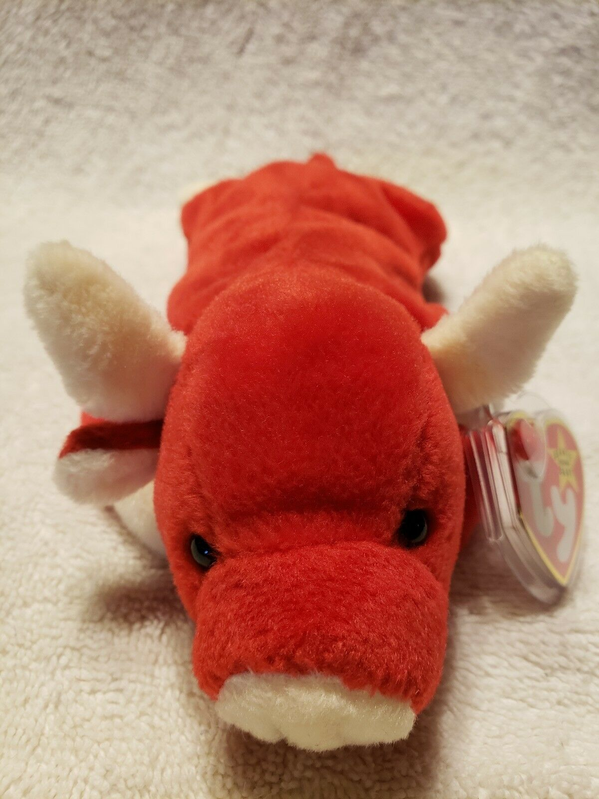 Ty beanie babies rare SNORT with TAG ERRORS PVC...MAKE AN OFFER