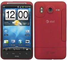 """Red AT&T HTC Inspire 4G 4.3"""" Touch Screen SmartPhone GPS 8MP 720P HD Video WiFi"""