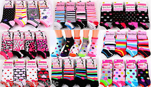 3 Pairs New Ladies Womens Bright Coloured Design Socks Blend Designer Adults 4-7