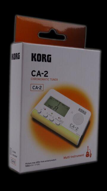 KORG CA-2 Cromático Sintonizador para Blechblas Cadena y Laud