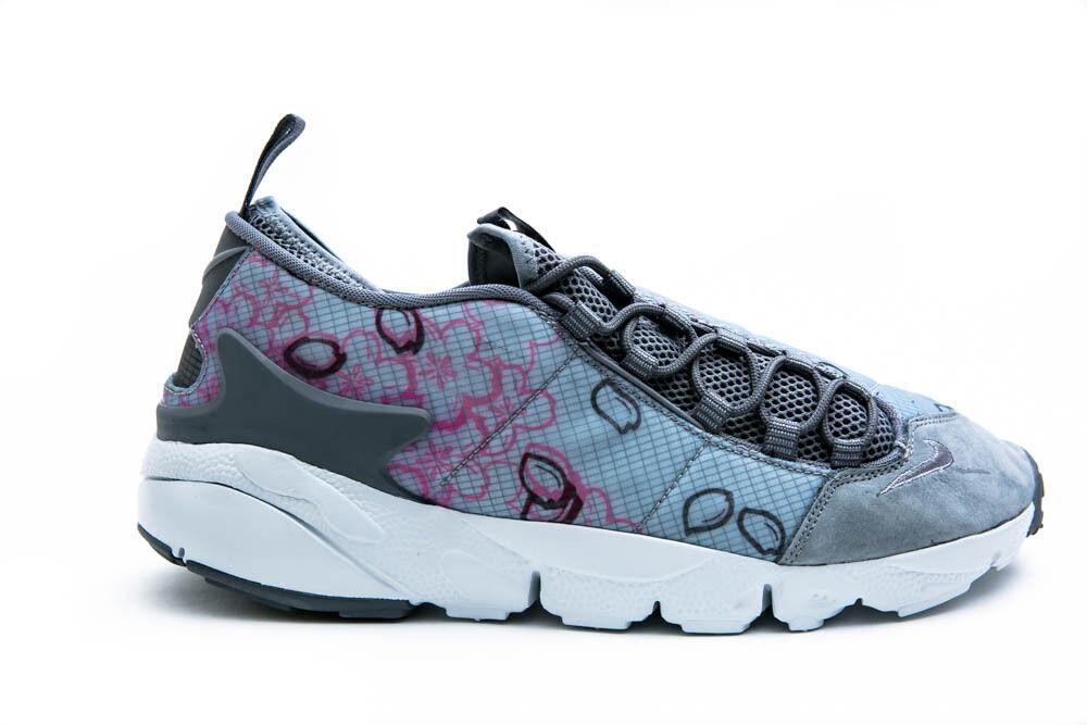 NIKE AIR FOOTSCAPE NM PREMIUM QS MENS COMFORT RUNNING SHOES COOL GREY 846786 002