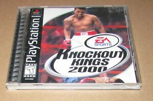 Knockout-Kings-2000-for-Playstation-PS1-Complete-Fast-Shipping