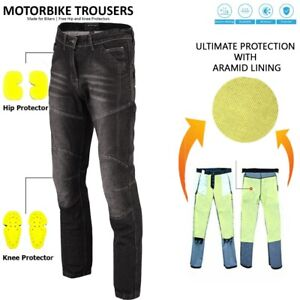 CE-Armoured-Mens-Motorcycle-Jeans-Motorbike-Trousers-Denim-Pant-Made-with-Kevlar