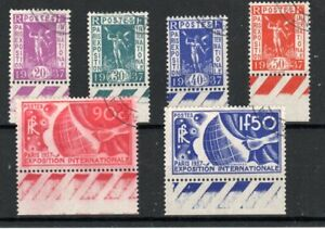 France 1938 Paris International Exhibition set FU CDS