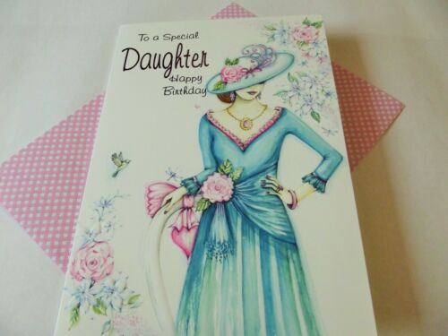 To A Special Daughter Happy Birthday...........Birthday Greetings Card