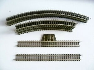 110 mm Anschlußgleis Mini Club 1 Stück 8590