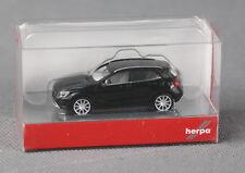 Herpa 1//87 Nr 023078 MB Mercedes Benz SL-Klasse Cabriolet schwarz OVP #7555