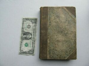 Rare-Antique-Book-Uncle-Tom-039-s-Cabin-Stowe-1st-Edition-1852-Plantation-GIFT