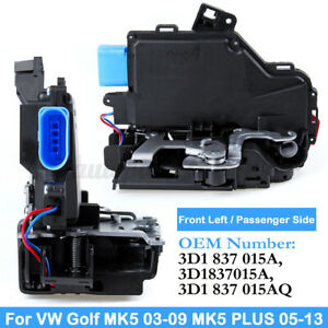 Front-Left-Passenger-Door-Lock-Actuator-Mechanism-For-VW-GOLF-MK5-Jetta