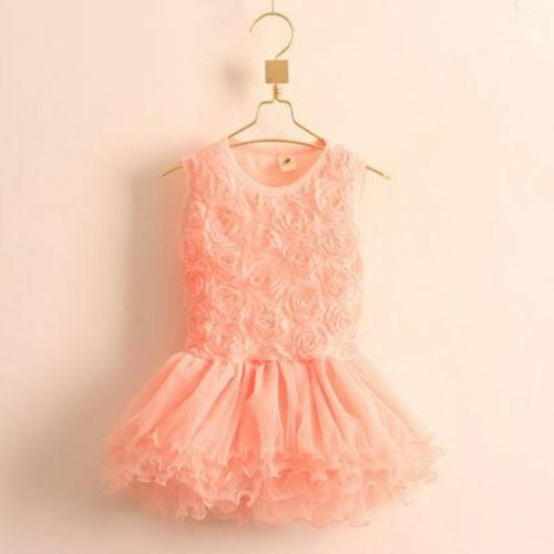 Mädchenkleid Kleid Sommerkleid Blumen Tütü Tüllrock mehrlagig neu Gr 86-92