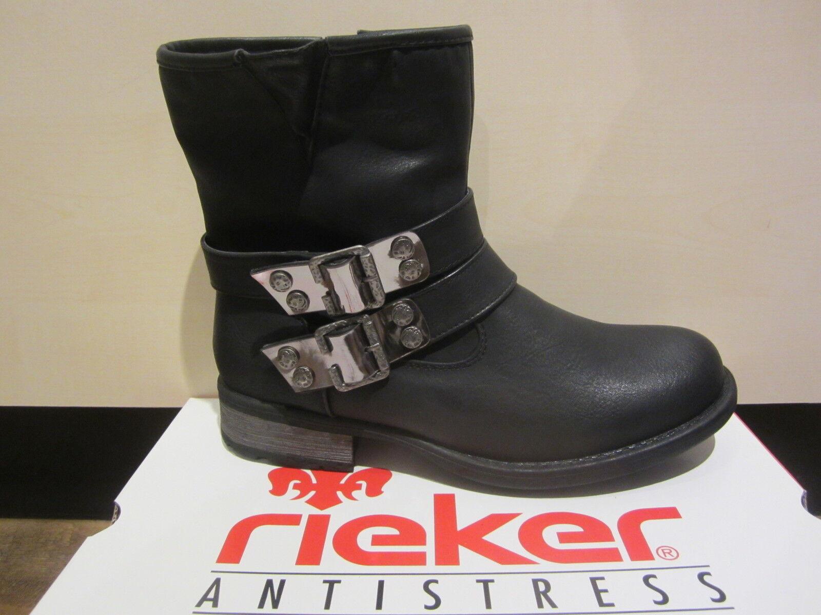 Rieker Damen Stiefel Stiefelette 97264 Boots Winterstiefel schwarz  97264 Stiefelette NEU 88ceff