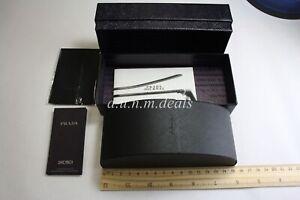 Prada-Black-Sunglasses-Case-with-the-original-box-Authentic-6-034-Lx2-5-034-W-x-2-25-034-D