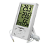 CestMall Digital Backlit LCD Indoor//Outdoor Thermometer Hygrometer with Large