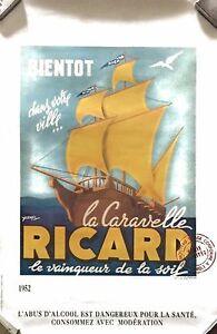 6 affiches RICARD - France - État : Neuf: Objet neuf et intact, n'ayant jamais servi, non ouvert. Consulter l'annonce du vendeur pour avoir plus de détails. ... - France