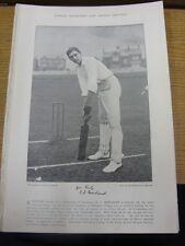 1895 Placa De Cricket: famosa/imagen Mordaunt, G J [Oxford] - en reverso-Wrigh