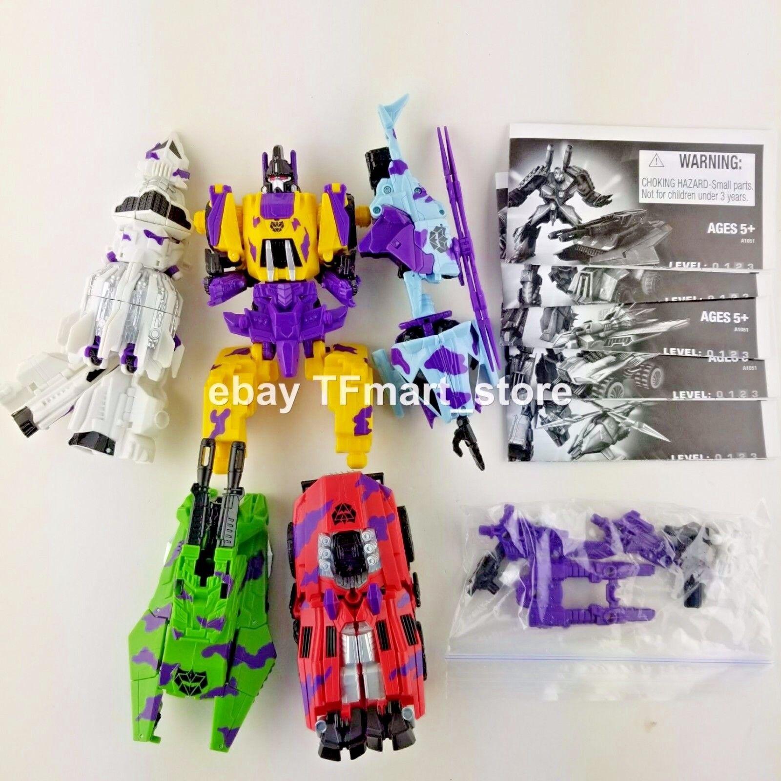 Transformers Generations Fall of Cybertron FOC G2 Bruticus Combineur Set Amazon