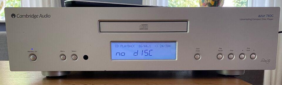 CD afspiller, Cambridge, Azur 740C