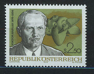 AUSTRIA-1976-MNH-SC-1046-Viktor-Kaplan