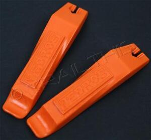 3 Sets of Pedros Tire Levers Orange