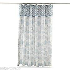 Attention Metallic Gold Chevron 100 Cotton Fabric Shower Curtain