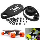 DIY Electric Skateboard Kit Parts Pulleys + Motor Mount +Belt For 72/70MM Wheels
