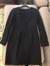 Uniqlo +J women wool black dress Size S
