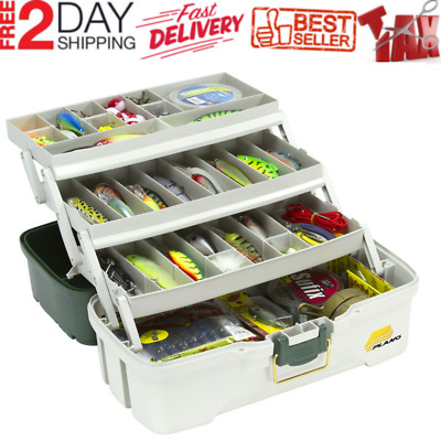 1PCS Fishing Tackle Box Lures Storage Tray Bait Case Tool Organizer