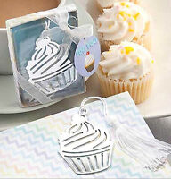 Cupcake Bookmark Book Page Mark Marker Reading Reader Cake Birthday Party Gift