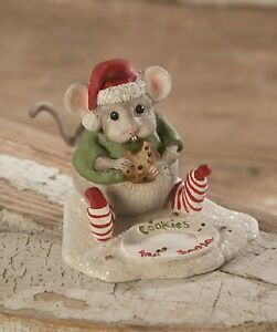 Bethany Lowe Christmas Nibbles Mouse TD9032 New