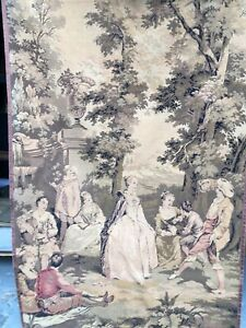 antique vintage wall hanging tapestry french