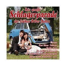 DIE GROßE SCHLAGERPARADE DER FRÜHEN 60ER JAHRE (FREDDY QUINN/+)  3 CD  NEU