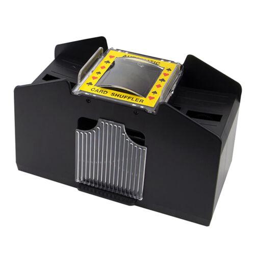 4-Deck Automatic Card Shuffler Shuffling Machine Battery Operated Playing Cards