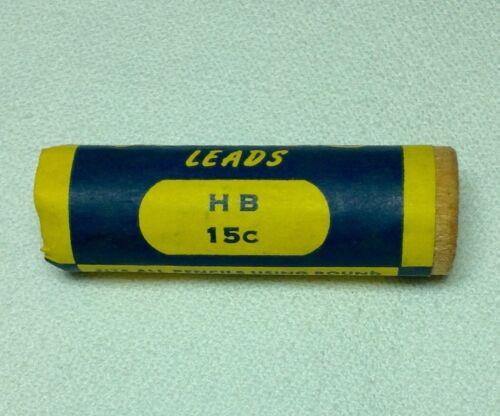 "Medium #2 Sheaffer Short Super Smooth HB Leads Wooden Tube .046/"" 1.1mm"