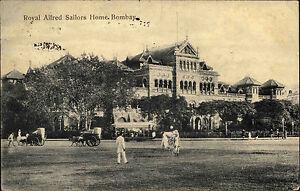 Mumbai-Bombay-Indien-India-Maharashtra-AK-1910-Royal-Afred-Sailors-Home-Gebaeude