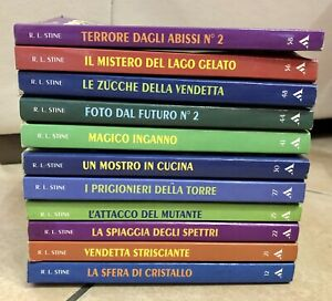 Libri-Piccoli-Brividi-a-4-5-euro-cadauno-R-L-Stine-SCONTI-SULLE-QUANTITA