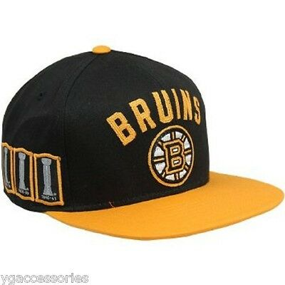 new york sale usa online wide range NHL Boston Bruins Reebok Stanley Cup Multi Year Champions Cap Hat ...