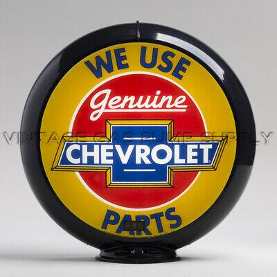 "Chevrolet Parts 13.5/"" Gas Pump Globe w// Steel Body G237"