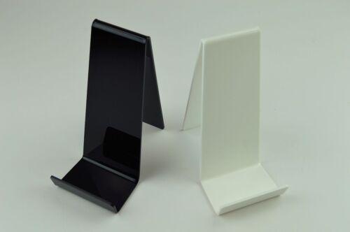 Book Stand Black Gloss x 5 Display Holder White SALE Tablet Holder