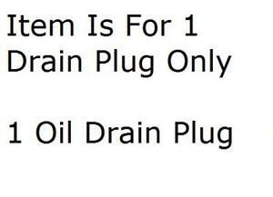 Engine Oil Drain Plug Dorman 090-053