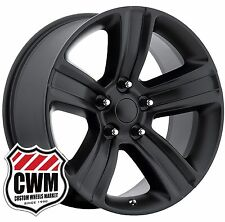"20x9"" OE Performance 155SB Dodge Ram 1500 Satin Black Wheels Rims 5x139.7 +18"