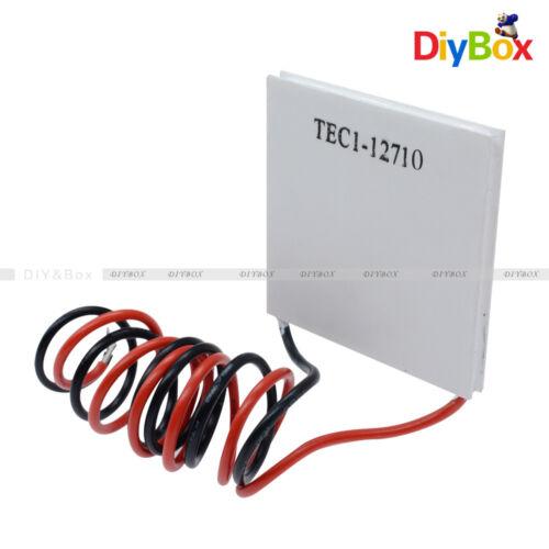 1-10 PCS 40*40MM TEC1-12710 Heatsink Thermoelectric Cooling Peltier Plate