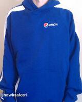 Pepsi Sport-tek Hooded Stripe Pullover - Sweatshirt - Pepsi - (men's Xl)