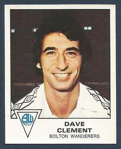 PANINI-FOOTBALL-80-040-BOLTON-WANDERERS-QPR-amp-ENGLAND-DAVE-CLEMENT