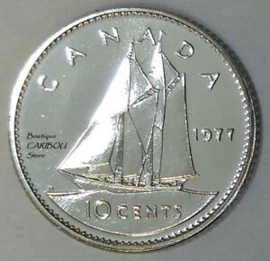 1977-Canada-Proof-Like-10-Cents