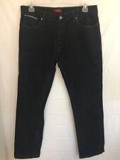 Perry Ellis Premium Denim Jeans Black Size 36x32 -A1