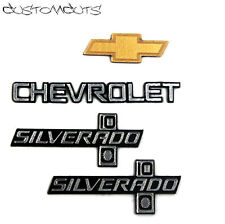 Chevrolet Silverado Embleme f. Tamiya Clod Buster Scaler Chevy 1:12 1:10 RC