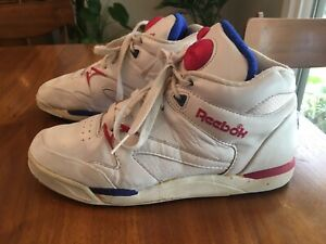 shop best sellers new collection superior performance Details about Women's Reebok The Pump White Pink Hexalite Size 8 EUR 39  Retro Pumps 80s 90s