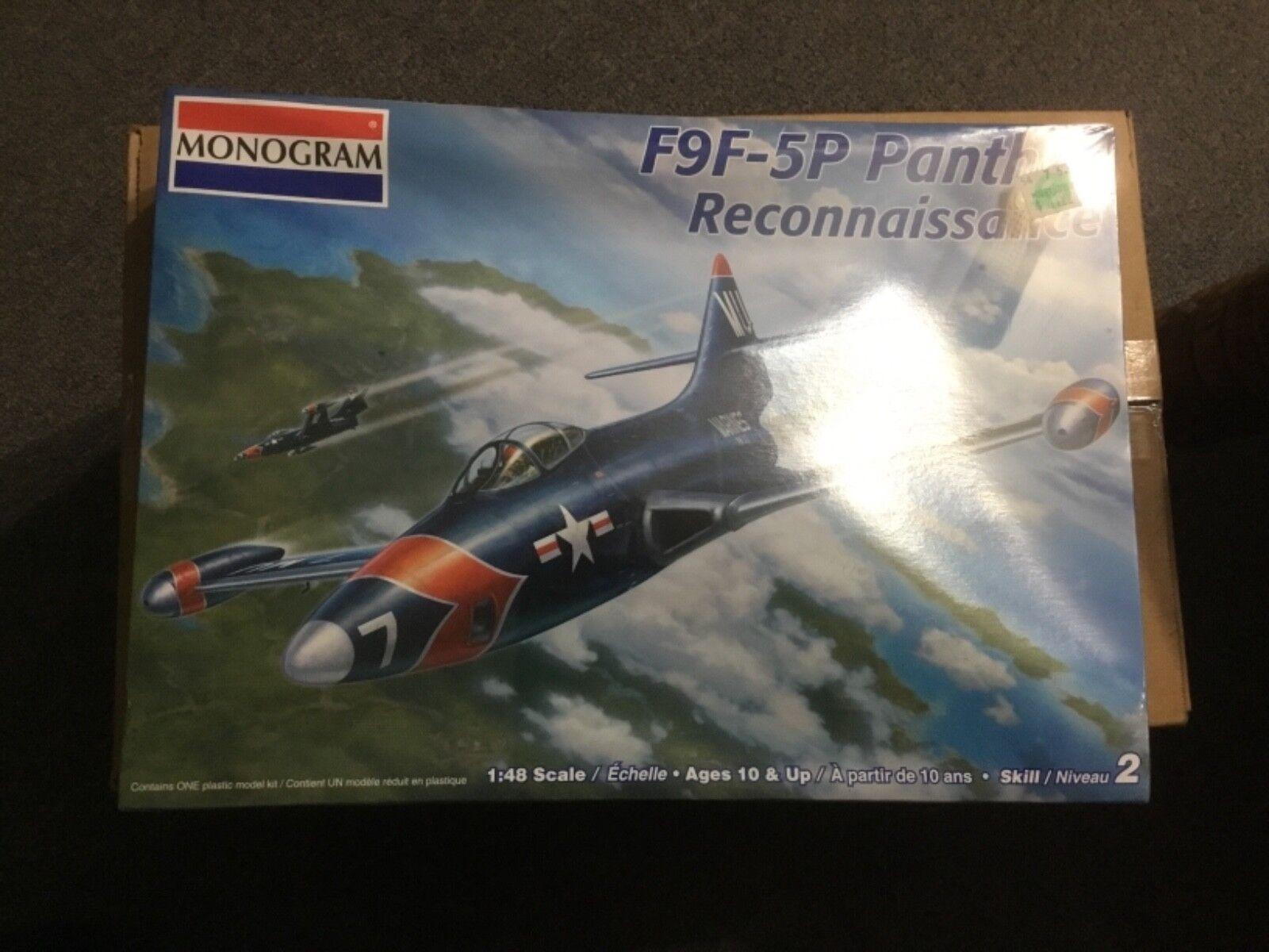 Monogram F9F-5P Panther Reconnaissance  1 48 scale Model Kit