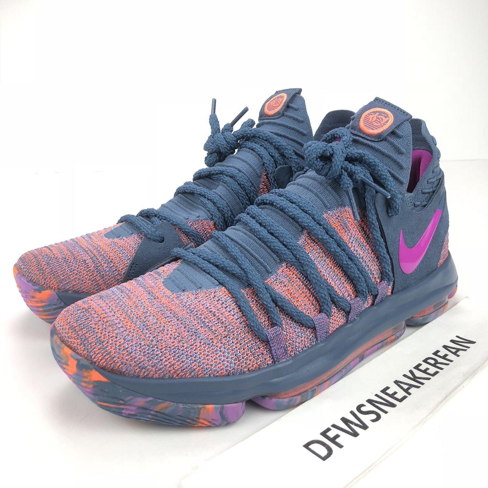 a820344cadd2ed Nike Zoom KD10 Lmtd Herren Größe UK 11 All-Star All-Star All-Star Ozean  Nebel Fuchsien 897817-400 8a35ba