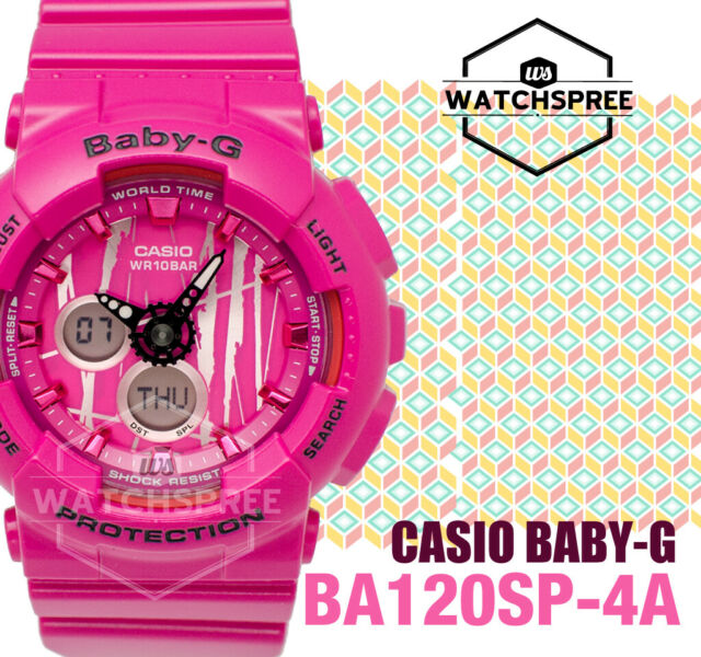 Casio Baby-G New Scratch Pattern BA-120 Series Watch BA120SP-4A